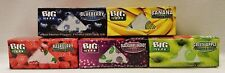 Pick 6 Boxes Juicy Jay's Big Size Sampler 5 Meter Rolls Rolling Papers 5 Flavors