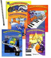 Tastenzauberei, Klavierschule für Kinder, Ausgabe mit CD und Ringbindung