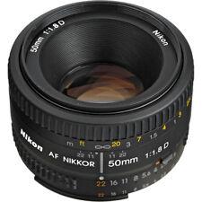 Nikon 50mm f/1.8D Autofocus Nikkor Lens for Nikon DSLR Cameras
