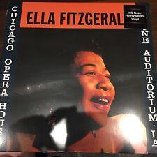ELLA FITZGERALD 'Chicago Opera House & Shrine Auditorium LA' NEW AND SEALED LP