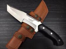 """ASH hk708bm CUSTOM HANDMADE HUNTING TRACKER KNIFE 440C STEEL 11"""""""