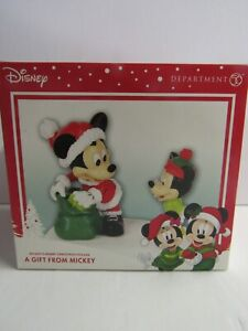 Dept 56 Disney Mickey's Merry Christmas Village A Gift From Mickey 4059718