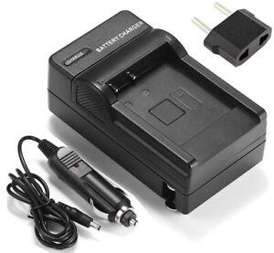 Battery Charger For Canon IXUS 125 HS, IXUS 190, IXUS 240 HS Digital Camera