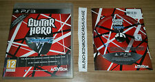 Guitar hero van halen pal format Sony PlayStation 3 PS3 25 hits + 19 commentaires actes