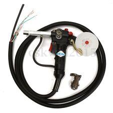 Mig Welder Spool Gun Push Pull Feeder Aluminum Welding Torch w/ 3m Cable