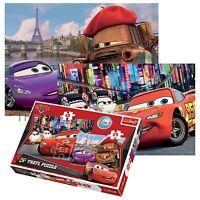 Trefl 2 In 1 24 + 48 Piece Boys Kids Disney Pixar Cars Tokyo Paris Jigsaw Puzzle