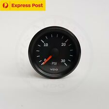 VDO 52mm 30 PSI BOOST GAUGE AUTOMOTIVE 4WD BRAND NEW...!