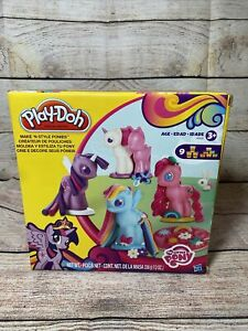 Play-Doh My Little Pony Mold Clay Toy Make Style Ponies Toddler Baby Kid Playset