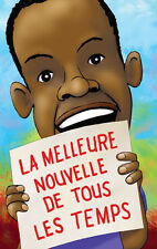 """French Gospel Tracts """"The Best News Ever"""" (pack of 20) FREE SHIPPING"""