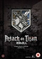 Attack On Titan Complete Series 1 Collection DVD New & Sealed ANIME Region 2 MN