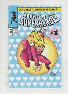 ARCHIE & FRIENDS SUPERHEROES NM-, 3 issue Dan Parent, Spider- Man #300 homage