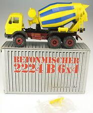 CONRAD 3044 - Mercedes-Benz 2224 B 6x4 Betonmischer - in OVP - 1:50 - LKW Mixer