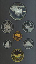 1992 Canada Double Dollar $1 Proof Coin Set COA BOX