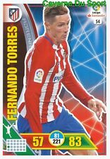 054 FERNANDO TORRES ESPANA ATLETICO CARD ADRENALYN LIGA 2017 PANINI