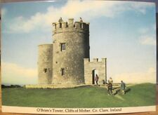Irish Postcard CLIFFS OF MOHER O'Brien's Tower Clare Ireland Observation Point