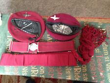 More details for vintage parachute reg. berets,belts,parade x4