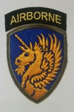 Patch US 13th AIRBORNE WWII ORIGINAL
