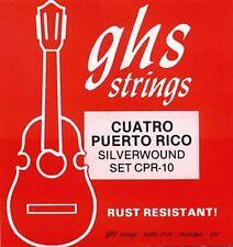 GHS Cuatro Puerto Rico SILVERWOUND SET CPR-10