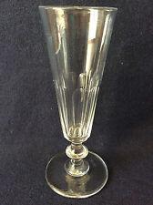 Saint-Louis Caton H 17 cm flute champagne cristal XIXe Louis-Philippe Ier