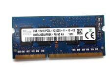Hynix 2GB PC3L-12800S DDR3-1600MHz non-ECC Unbuff CL11 204-Pin SoDimm 1.35V LV