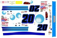 #20 At & T 1/32nd Scale Slot Car Waterslide Decals