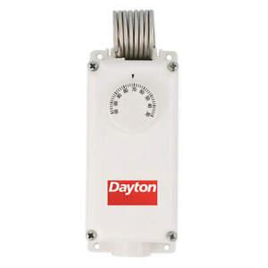 DAYTON 6EDY5 Line Volt Mechanical Tstat,120-240V,SPDT