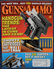 Magazine GUNS & AMMO April 1992 !!! CROSMAN Model 357-8 CO2 .177 REVOLVER !!!