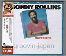 Sealed SONNY ROLLINS No Problem JAPAN CD UCCO-90190 w/OBI 2013 ltd issue FreeSH
