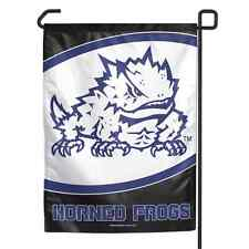 "Tcu Horned Frogs 11""X15"" Garden Flag Brand New Free Shipping Wincraft"