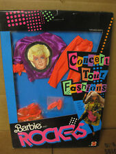 1986  Barbie and the Rockers Concert Tour Fashions!