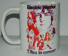 MARC BOLAN - ELECTRIC WARRIOR USA TOUR 1972 MUG - FEATURING ORIGINAL TOUR DESIGN