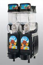 New Black Faby 2 Bowl Frozen Drink Machine