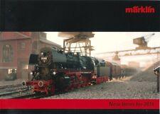 """Marklin 2011 """"New Items"""" Catalogue"""