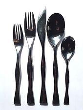 Nambe BUTTERFLY Stainless Flatware 5 pc Place Setting, Multiple Sets Avail.