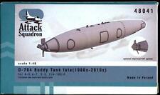 Attack Squadron Models 1/48 U.S. NAVY D-704 BUDDY FUEL TANK 1980s-2010s