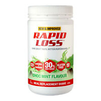 Rapid Loss Shake Choc Mint Meal Replacement Weight Loss