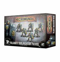 Necromunda: Palanite Subjugator Patrol - Warhammer 40k - Brand New! 300-46