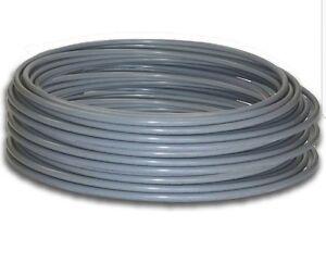 Pushfit 100m x 10mm pushfit pipe coil. Grey PB  pipe pushfit flexible SALE