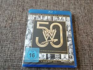 WWE 50 THE HISTORY OF Years Of Sports deutsches 2-Disc Blu-Ray Set Wrestling