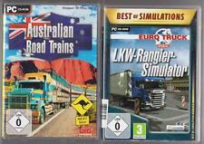 Australian Road Trains TRUCK + Euro Truck Camion speciale oltrepassare SIMULATORE PC