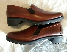 Cole Haan Country Leather Woman 8.5 AA Loafer Slip On Moccasin Shoes