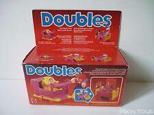 """Doubles """"Poussette / Coiffeuse"""" avec maman et bebe / Mattel 1985 [ Neuf ]"""