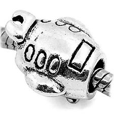 Submarine Charm European Bead Compatible for Most European Snake Chain Bracelet