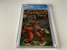 FANTASTIC FOUR 43 CGC 5.0 FIGHTFUL FOUR MEDUSA DR DOOM MARVEL COMICS 1965