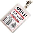 Area 51 Secret Agent Government ID Badge FBI CIA Cosplay Costume Prop A51-2