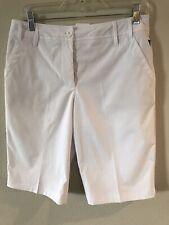 Womens White Shorts Size 6