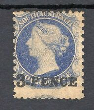 SOUTH AUSTRALIAN STATE STAMP 3d ON 4d O/P  - MINT CONDITION