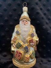 Patricia Breen Portobello Road Santa Gold / Glitter Ornament