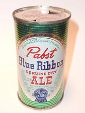 12oz Pabst Blue Ribbon Ale Flat Top - Pabst Brewing Co. Milwaukee, Wi