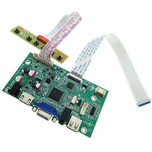 LP173WF4 SPF6 SPF5 Driver 30-pin 17.3 inch eDP LCD Controller HDMI VGA USB 3.5mm